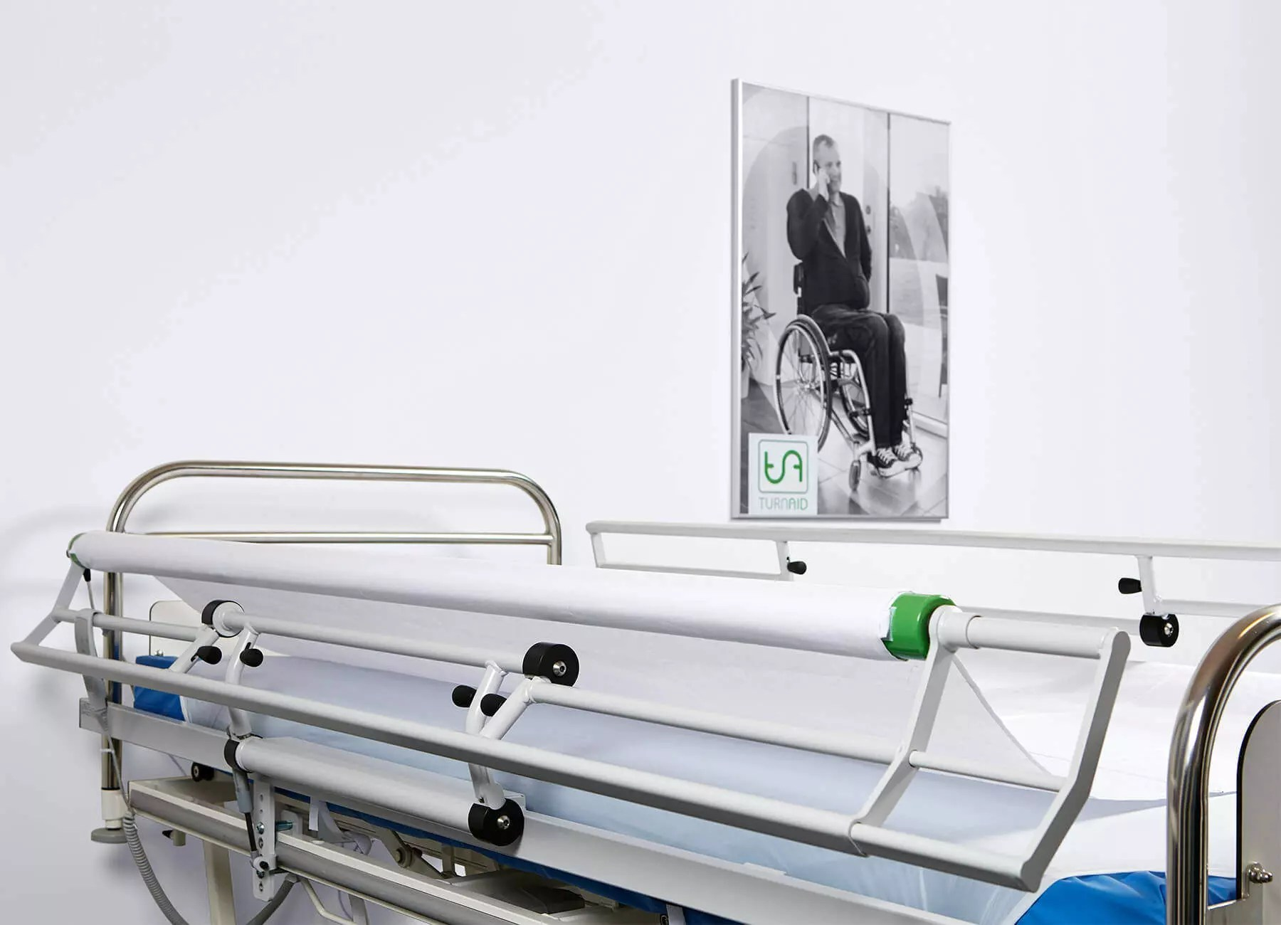 Bed Aids Patient Turning System Turnaid Prowend Turning System For Care Beds