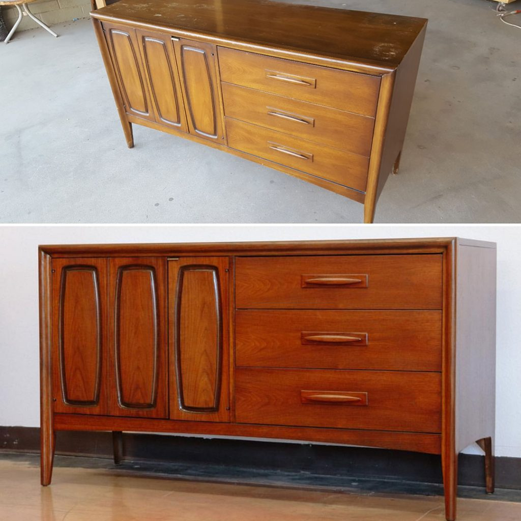Put Down That Paint Brush And Other Tips From An Mcm Furniture Restoration Expert Home