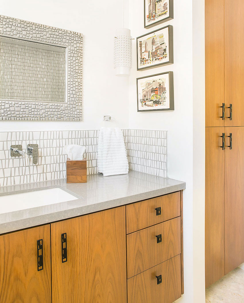 Our Favorite Sources For Mid Century Modern Bathroom Tile Home