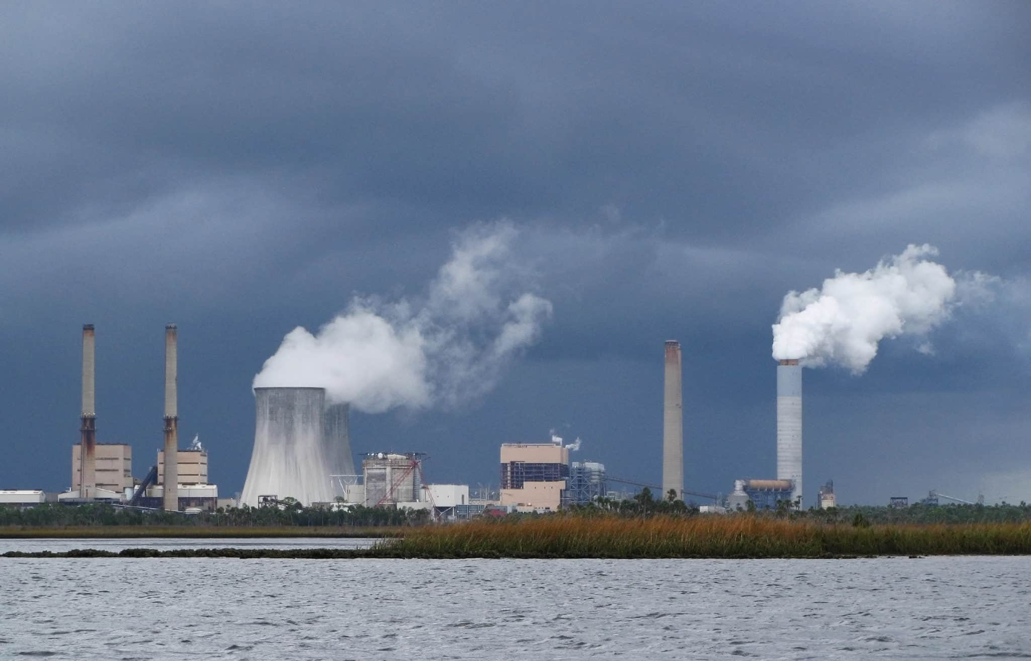 Nuclear power plants in a city
