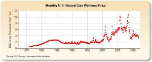 Natural Gas Price Graph (US)