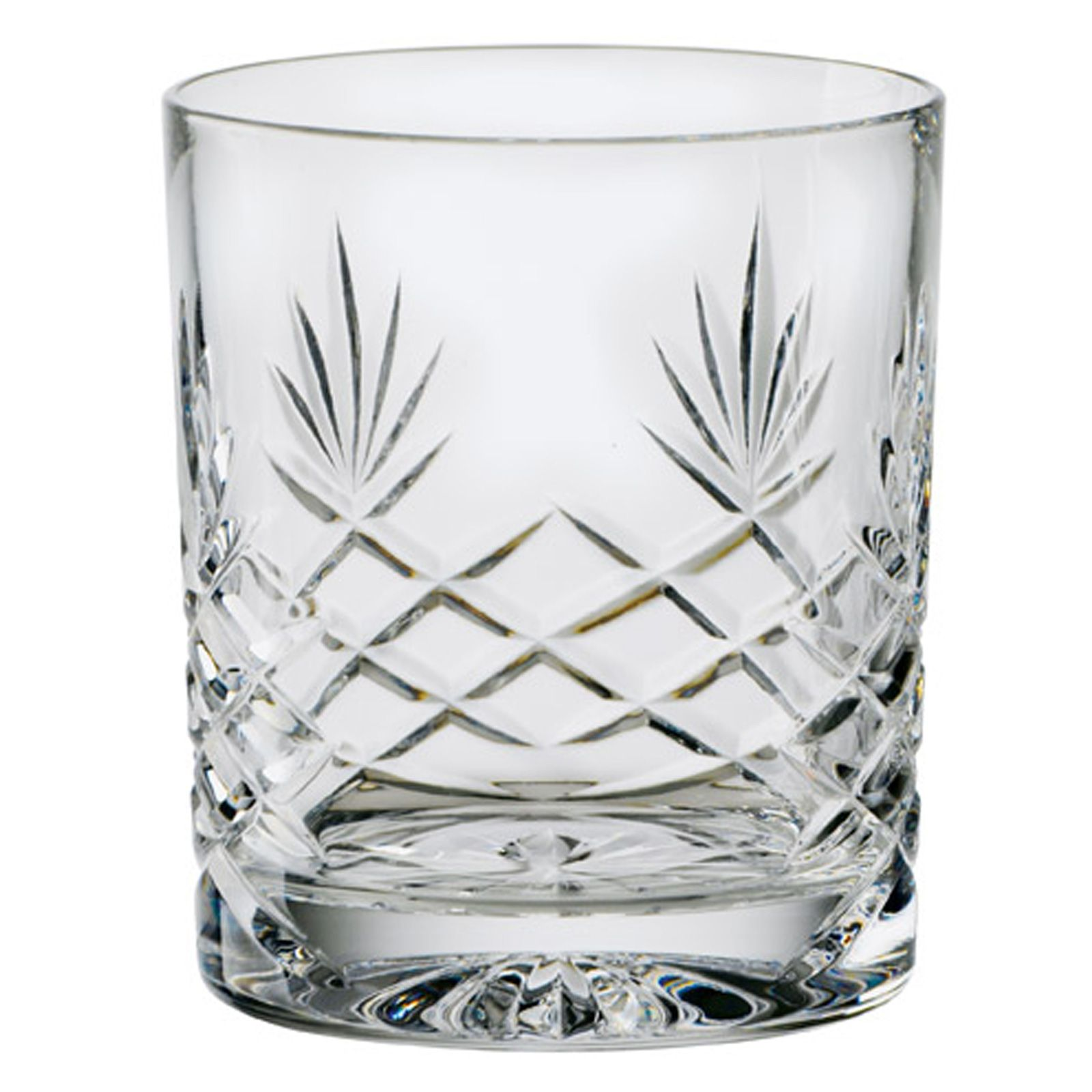Wisky Glas Engraved Sovereign Crystal Whisky Tumbler