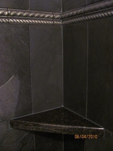 Shower Curb A To Z Tile - Gallery