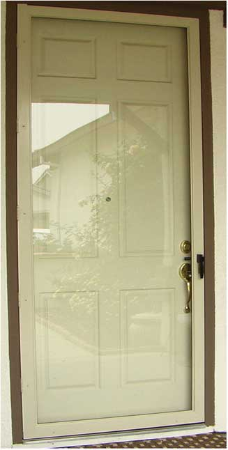 Full Frame Half Frame Swinging Screen Door Styles Sacramento Ca Atoz Screens