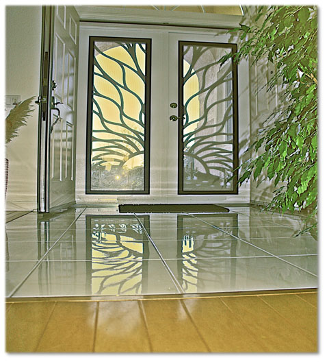 Titan Security Doors and Gates - Sacramento CA - A to Z - unique home designs security doors