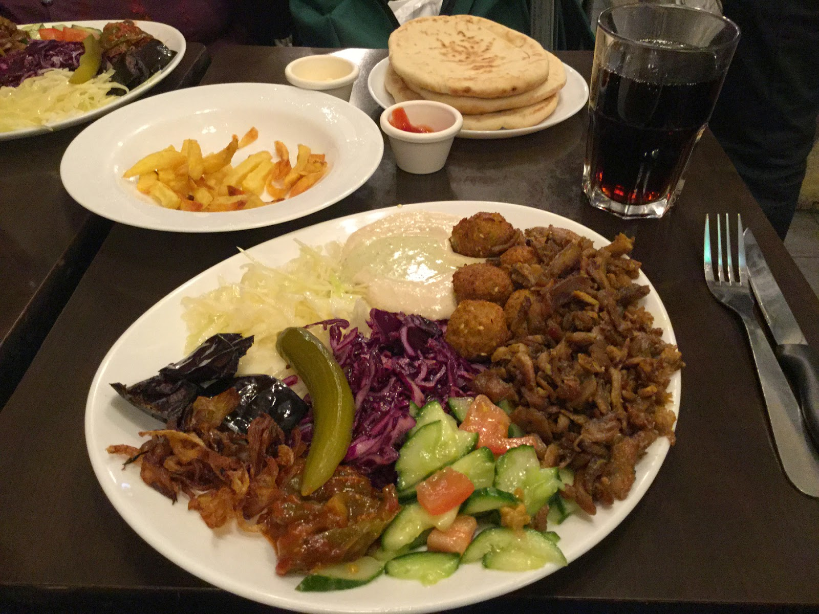 Quit college! Shawarma and Falafel are the only way!!?