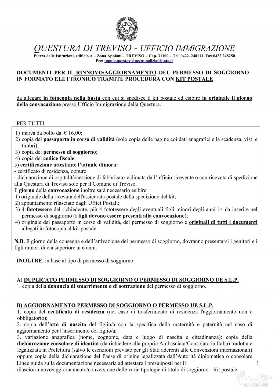 Best Rinnovare Carta Di Soggiorno Photos - House Interior ...