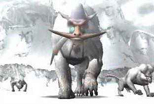 雪獅子王 - 魔物獵人