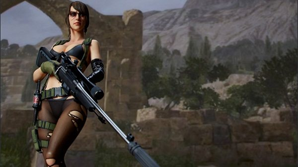 Sniper Rifle Wallpaper Hd Quiet From Metal Gear Solid V The Phantom Pain Receives A