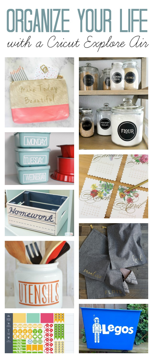 Home Organization Home Organization Ideas To Make With A Cricut Atta Girl Says