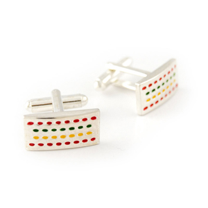 Rainbow-array-cufflink