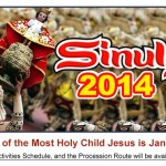 Cebu Sinulog Festival 2014 Official Schedule of Activities