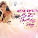 Kathryn Bernardo Complete List of 18 Roses Debut and ASAP Celebrates her Debut Video's