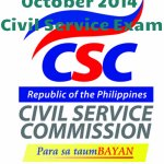 "Congratulations! October 2014 Civil Service Exam Results: Sub-Professional Level ""List of Passers"""