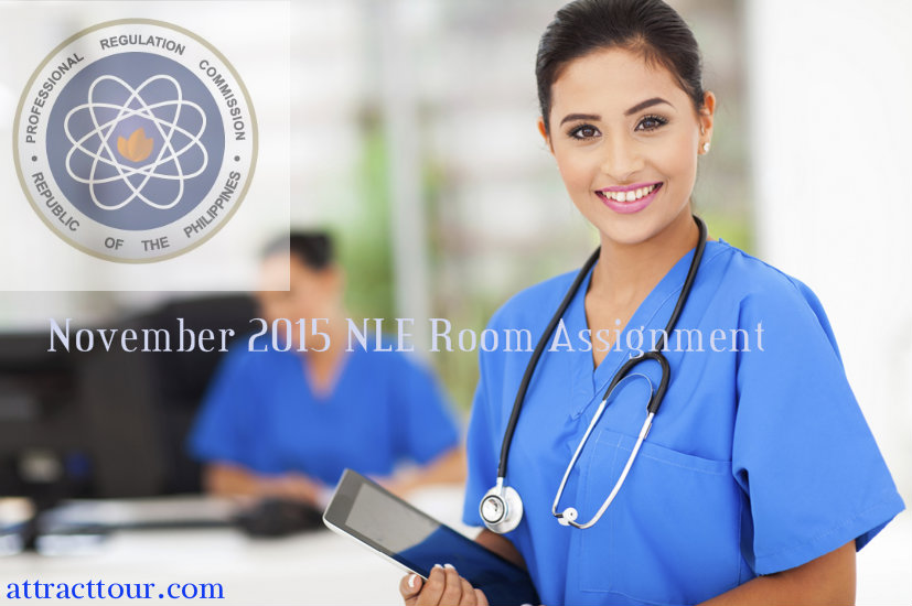 nursing licensure exam dec 2013 room assignment