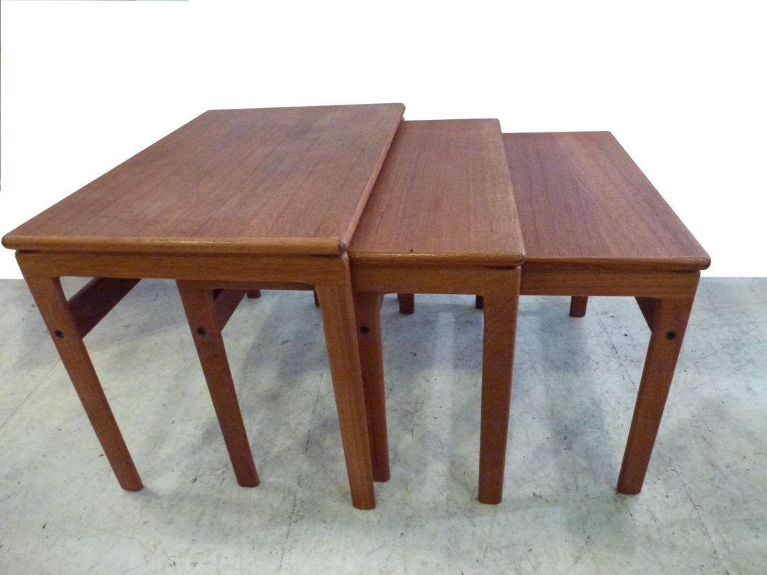 Tables Gigognes Scandinaves L 39attrape Coeur Elegantes Tables Gigognes Scandinaves En