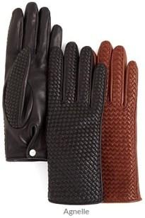 Agnelle - Basketweave Gloves
