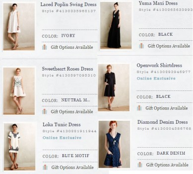 Wardrobe Wish List :: Anthropologie