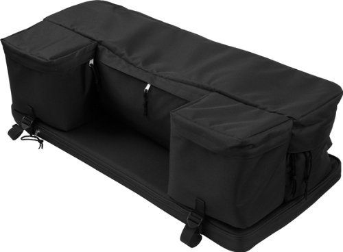 Black Atv Rack Pack Rear Utility Pack With Cushion Reviews