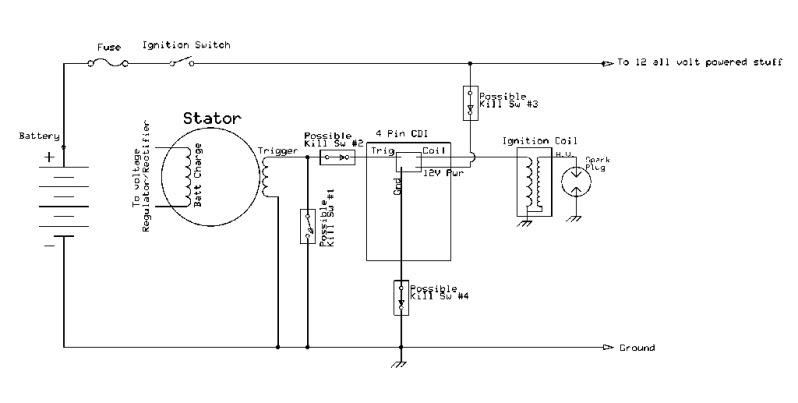 6 Volt Dc Cdi Wiring Diagram Wiring Diagram