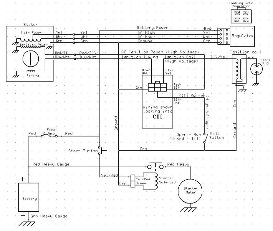 buyang fa c70 atv wiring diagram