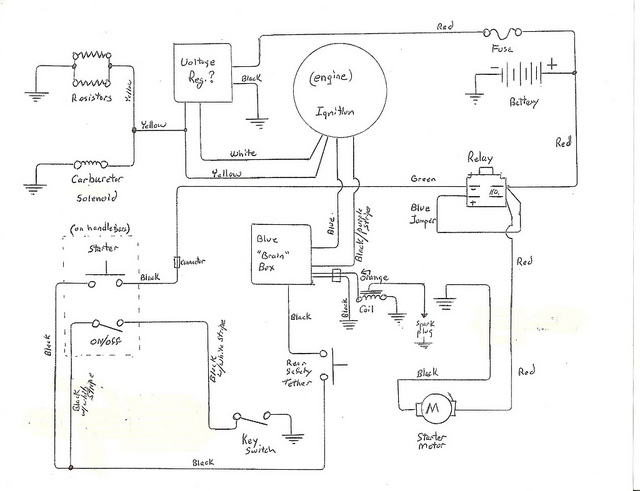 Sunl 50cc Atv Wiring Wiring Diagram