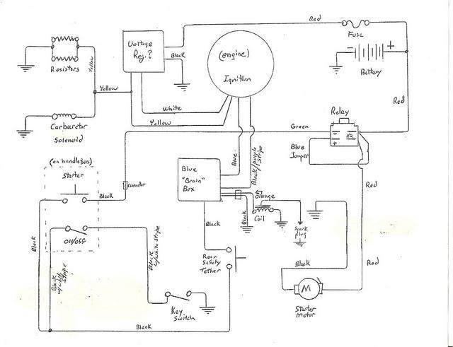 sundiro atv wiring diagram