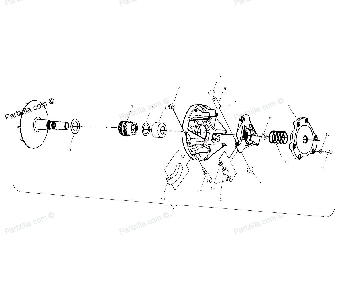 02 polaris sportsman 700 Schaltplang