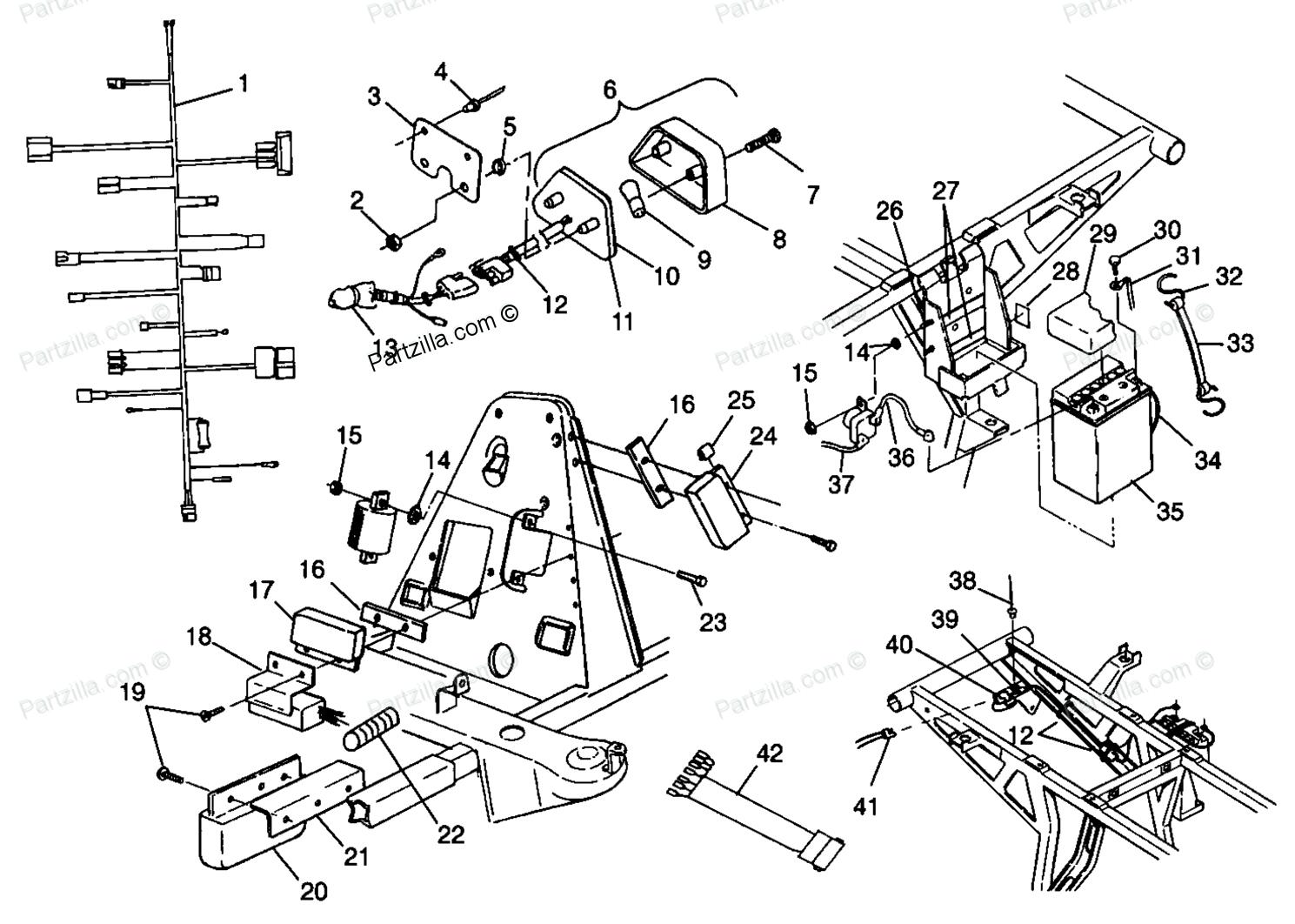 2003 honda foreman wiring diagram schematic