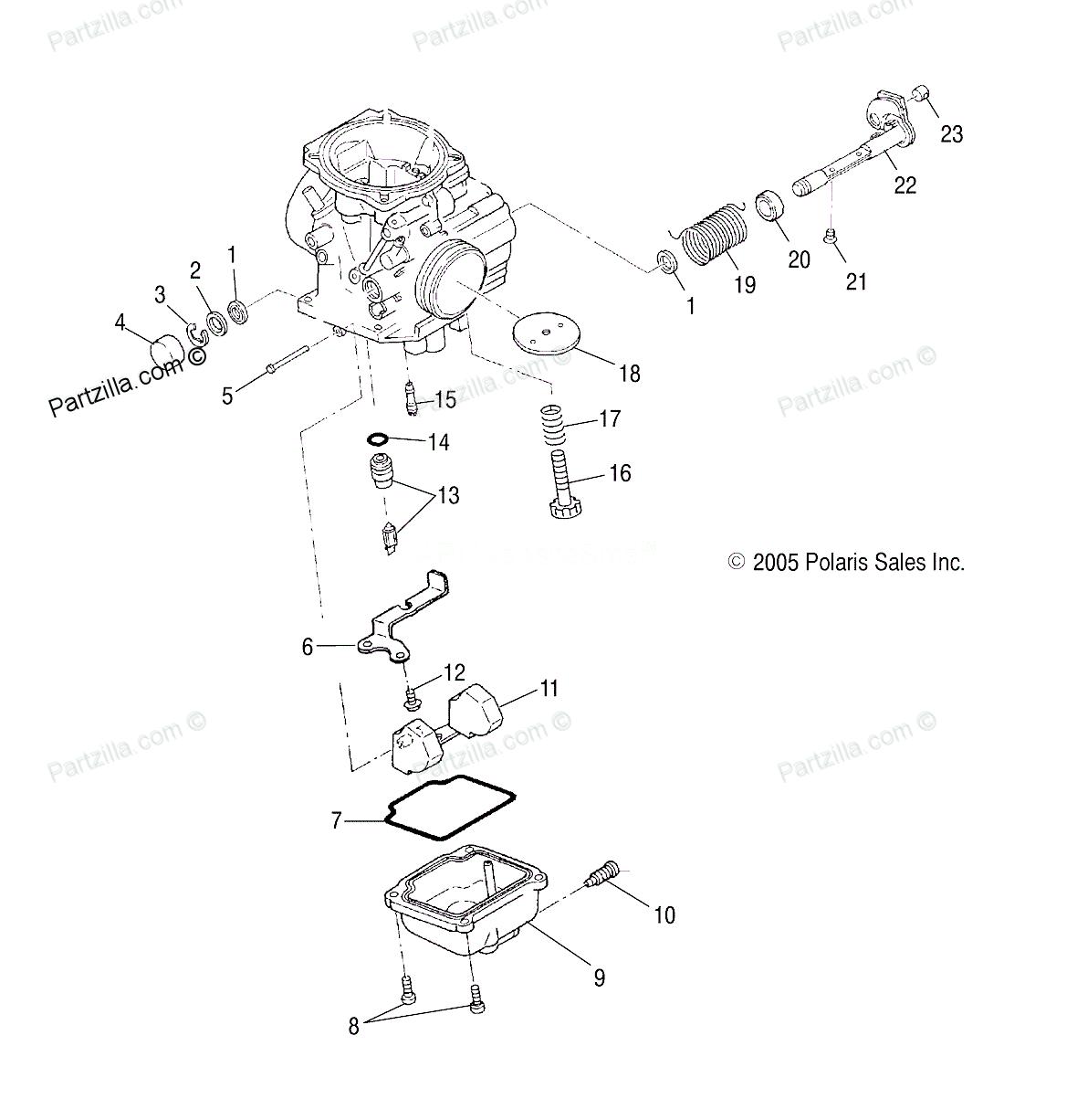 2005 polaris trail boss 330 wiring diagram
