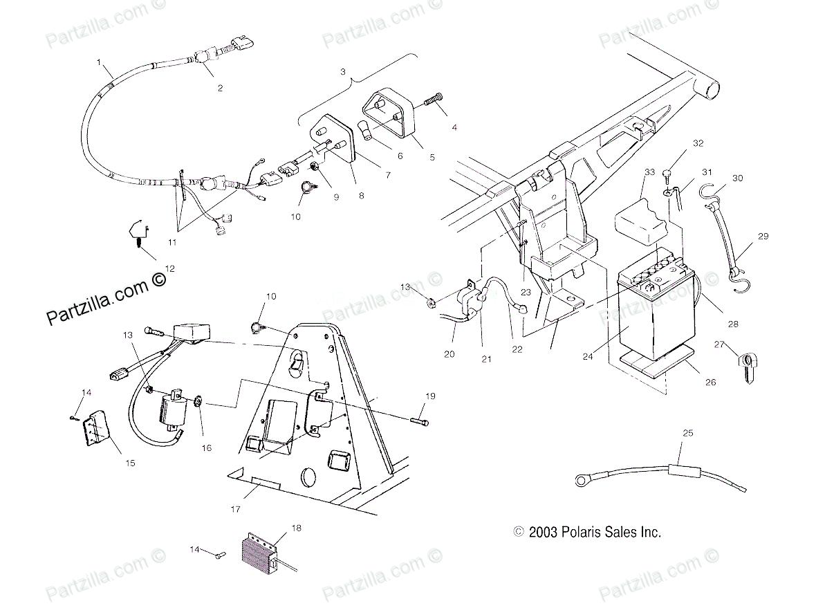 2004 polaris 500 atp wiring diagram