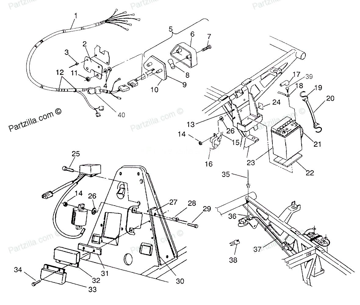 1993 polaris trail boss wiring diagram