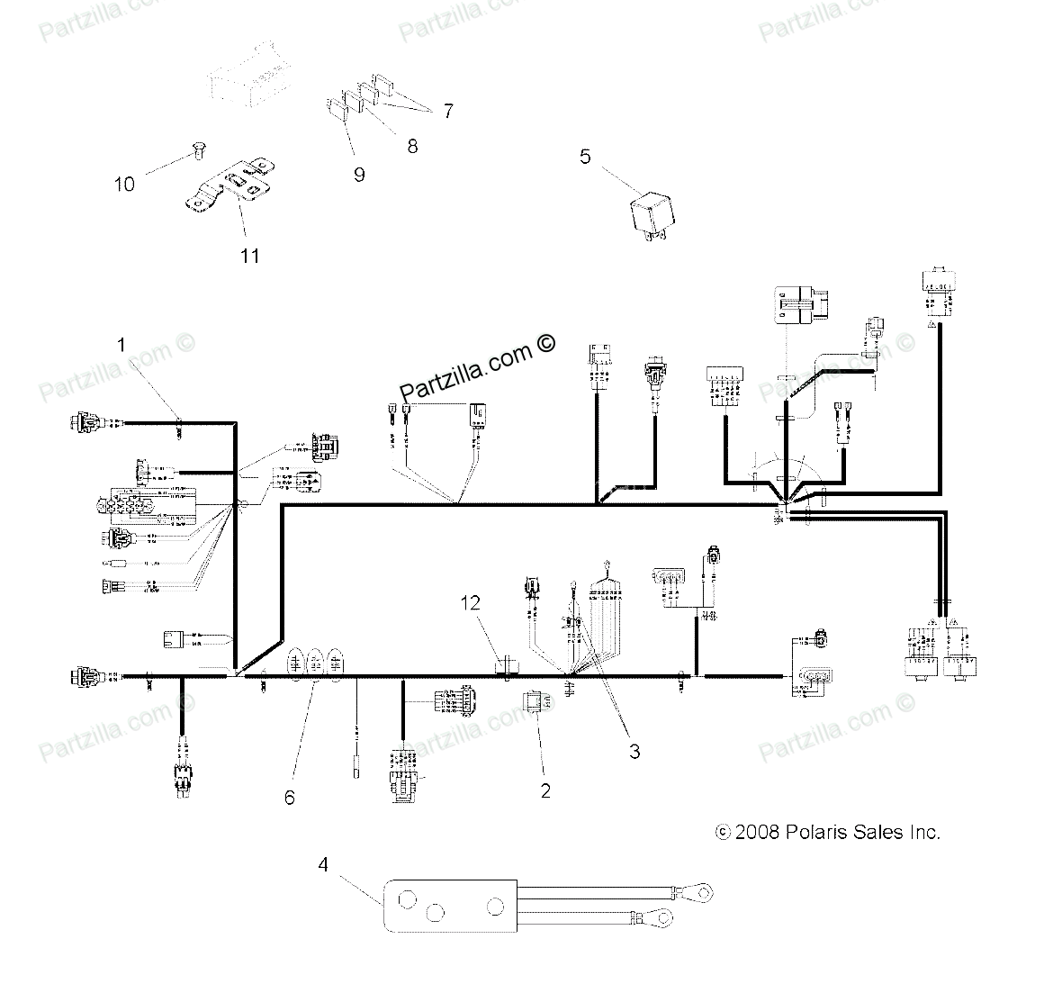 2008 polaris outlaw 525 wiring diagram