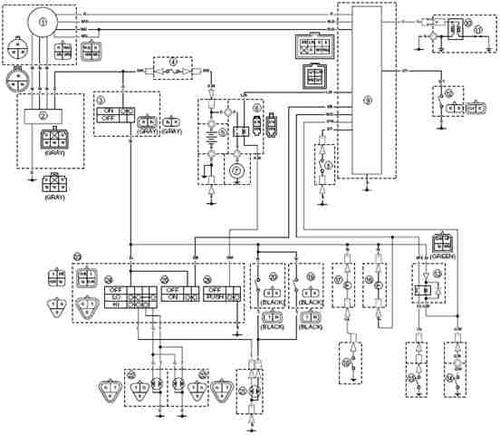 2000 yamaha warrior 350 wiring diagram