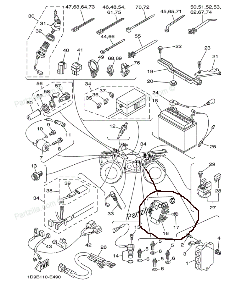 polaris voltage regulator wiring diagram