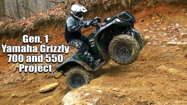 Yamaha Grizzly 700 and 550 Upgrade Project