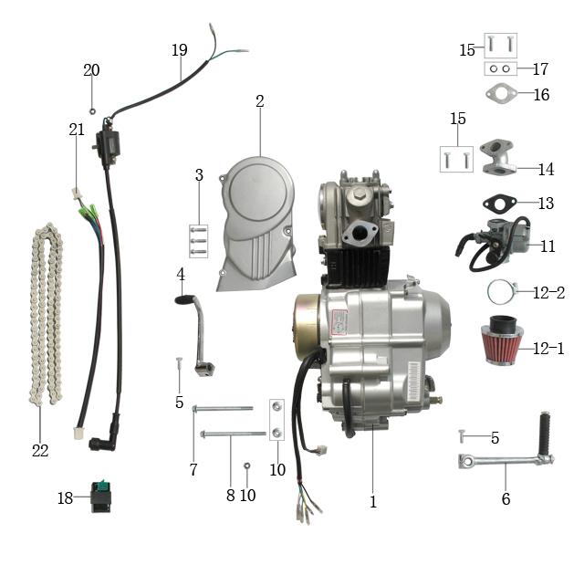 Loncin 125cc Wiring Diagram - Free Wiring Diagram For You \u2022