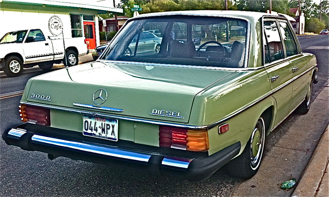 Early Mercedes Diesel Sedan Atx Car Pictures Real