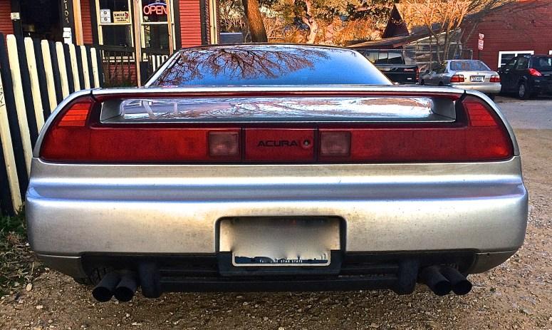 1991 Acura NSX in Austin TX rear