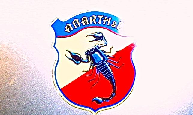 1950 Cisitalia Abarth 204 A Spyder Sport emblem