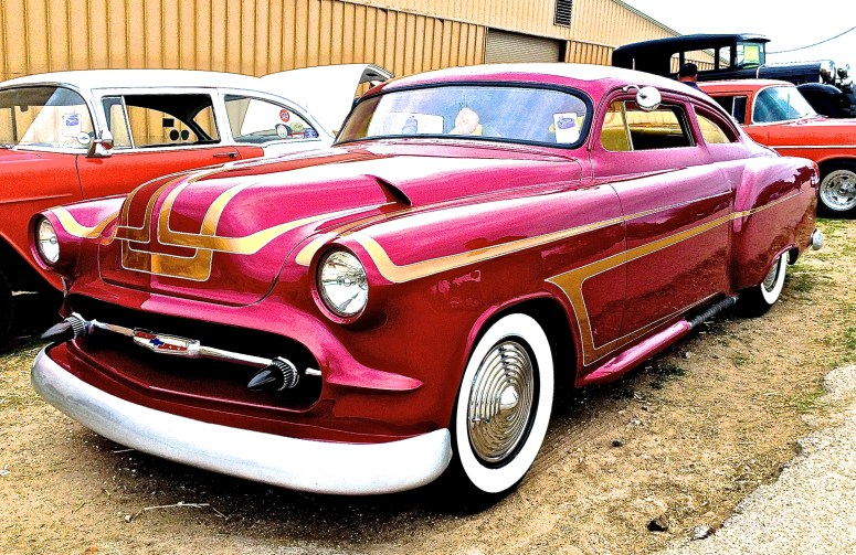 Early 50s Custom Chevrolet at Lonestar Round Up
