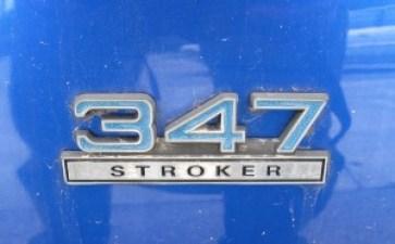 Stroker 347 Mustang emblem