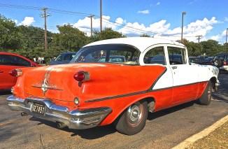 1956 Oldsmobile 88 in Austin Texas at HEB