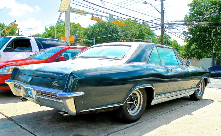 1965 Buick Riviera in Austin TX rear