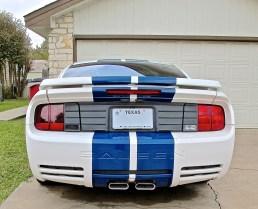 Saleen Mustang in Round Rock TX rear