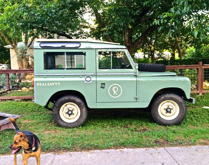 Land Rover in Austin Texas