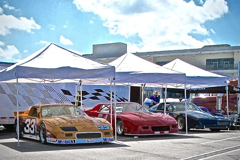 Pony race cars at Corinthian Races in College Station, TX