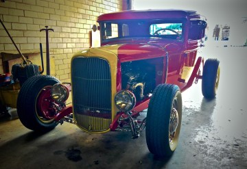 1932 Ford Hot Rod at Dave's Perfection Automotive in Austin TX