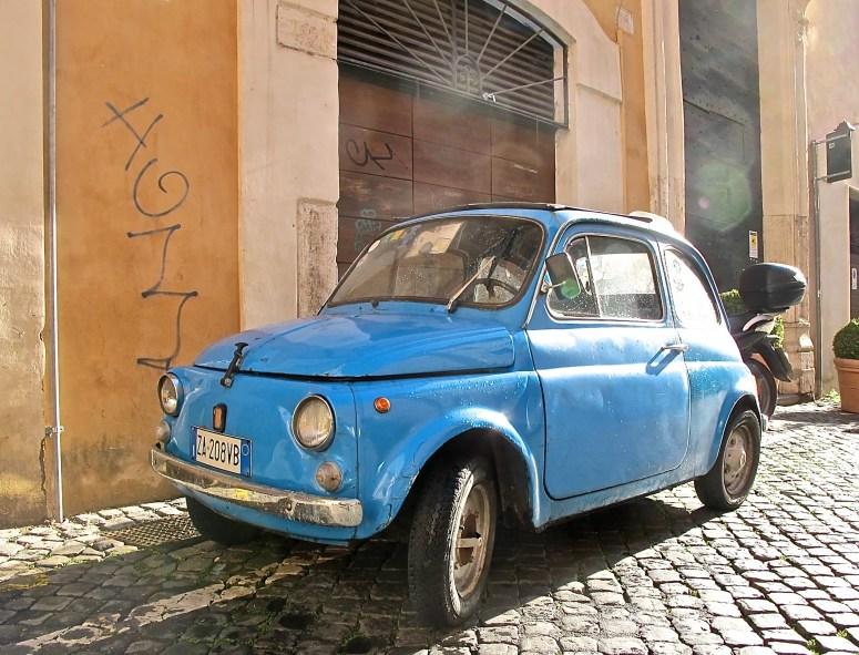 Fiat 500, Rome Italy