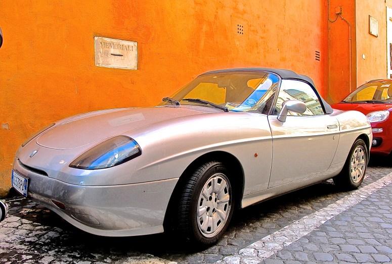 Fiat Barchetta in Rome, Italy